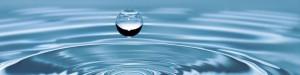 Représentation de la relaxation avec une goutte d'eau